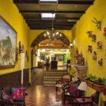 hotel in Antigua Camelias in reception