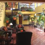 hotel camelias lobby antigua